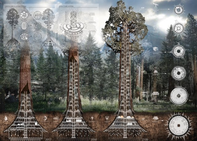 ko-jinhyeuk-cheong-changwon-cho-kyuhung-choi-sunwoong-evolo-2017-skyscraper-conceptual-architecture-sequoia-california-environment-coexistence_